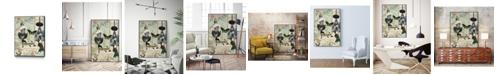 """Giant Art 40"""" x 30"""" Femme Paris III Art Block Framed Canvas"""