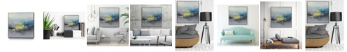 "Giant Art 20"" x 20"" Oriental Spring I Art Block Framed Canvas"