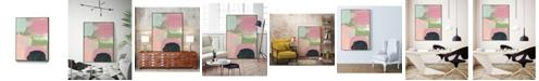 "Giant Art 40"" x 30"" Cheeky I Art Block Framed Canvas"