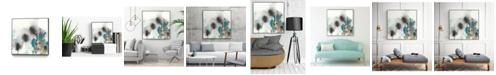 "Giant Art 20"" x 20"" Cerulean Mirage I Art Block Framed Canvas"