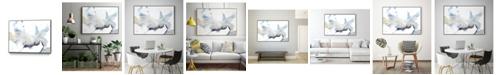 "Giant Art 36"" x 24"" Bloom Cloud I Art Block Framed Canvas"