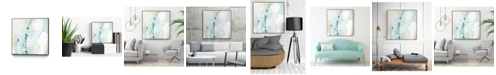 "Giant Art 30"" x 30"" Sea Story IV Art Block Framed Canvas"