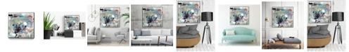 """Giant Art 30"""" x 30"""" Jostle IV Art Block Framed Canvas"""