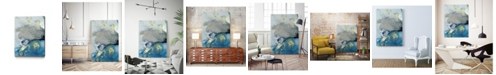 "Giant Art 14"" x 11"" Ocean Splash I Museum Mounted Canvas Print"