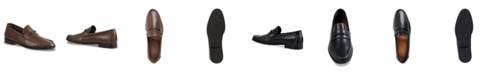 Sandro Moscoloni Men's Moc Toe Strap Slip-On