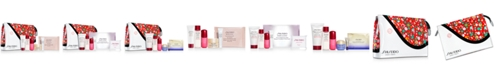 Shiseido Choose your FREE 7pc Gift with any $85 Shiseido Purchase (Up to a $124 Value!)*