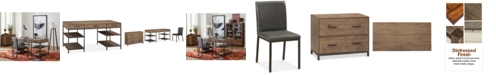 Furniture Gatlin Home Office 3-Pc. Furniture Set (Desk, Lateral File & Desk Chair), Created for Macy's