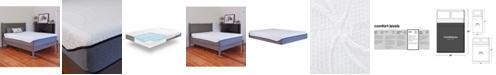 "Sleep Trends Sofia 12"" Plush Gel Memory Foam Mattress- Full"