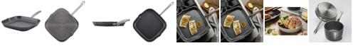 """Anolon Accolade Forged Hard-Anodized Precision Forge 11"""" Square Grill Pan"""