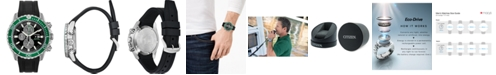 Citizen Eco-Drive Men's Promaster Diver Black Rubber Strap Watch 46mm