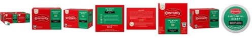 Community Coffee Cafe Special Decaf Medium-Dark Roast Single Serve Pods, Keurig K-Cup Brewer Compatible, 144 Ct