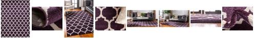 Bridgeport Home Arbor Arb1 Purple 10' x 13' Area Rug
