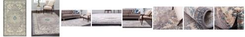 Bridgeport Home Bellmere Bel2 Gray 5' x 8' Area Rug