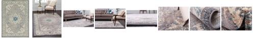 Bridgeport Home Bellmere Bel2 Gray 8' x 11' Area Rug