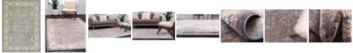Bridgeport Home Bellmere Bel5 Gray 8' x 11' Area Rug