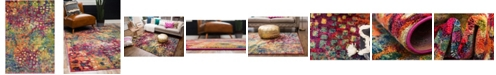 Bridgeport Home Adah Ada1 Multi 6' x 9' Area Rug