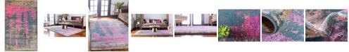 Bridgeport Home Aroa Aro5 Multi 5' x 8' Area Rug