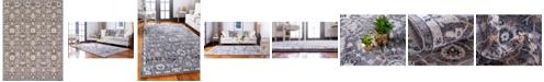 Bridgeport Home Wisdom Wis1 Gray 9' x 12' Area Rug