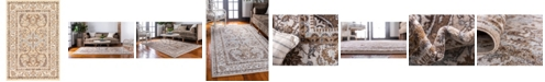 Bridgeport Home Wisdom Wis2 Ivory 4' x 6' Area Rug