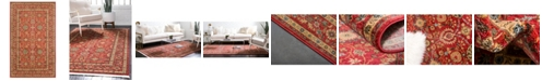 Bridgeport Home Orwyn Orw1 Red 5' x 8' Area Rug
