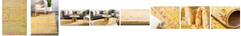 Bridgeport Home Malin Mal8 Yellow 6' x 9' Area Rug