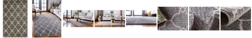 Bridgeport Home Pashio Pas2 Gray 6' x 9' Area Rug