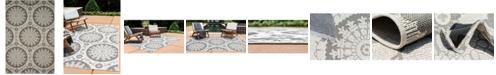 Bridgeport Home Pashio Pas5 Gray 6' x 9' Area Rug