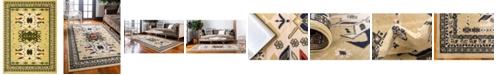 Bridgeport Home Charvi Chr1 Ivory 9' x 12' Area Rug