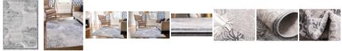 "Bridgeport Home Aitana Ait3 Gray 2' 2"" x 3' Area Rug"