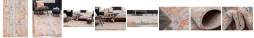 Bridgeport Home Nira Nir1 Orange 4' x 6' Area Rug