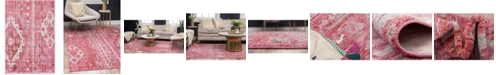 "Bridgeport Home Nira Nir2 Pink 2' 2"" x 3' Area Rug"