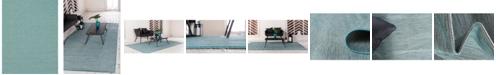"Bridgeport Home Pashio Pas8 Turquoise 9' 4"" x 12' Area Rug"