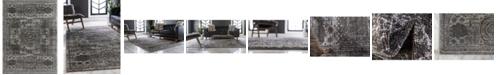 Bridgeport Home Mobley Mob2 Dark Gray 9' x 12' Area Rug