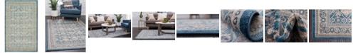 """Bridgeport Home Bellmere Bel4 Light Blue 3' 3"""" x 5' 3"""" Area Rug"""