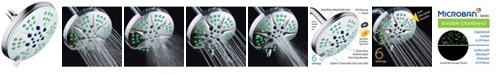 HotelSpa Antimicrobial Luxury Rain Shower Head