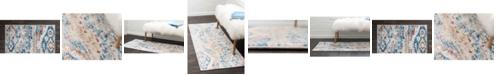 Bridgeport Home Nira Nir2 Blue/Beige Area Rug Collection