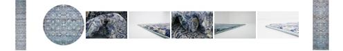 Bridgeport Home Ananta Ana1 Teal Area Rug Collection