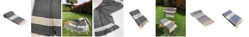 Olive and Linen Newport Turkish Towel / Throw