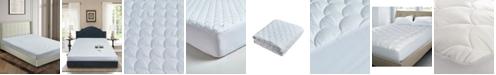 Blue Ridge 100% Cotton Damask Dot Dual Action California King Mattress Pad