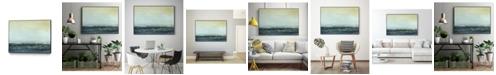 "Giant Art 28"" x 22"" Sea View VI Art Block Framed Canvas"