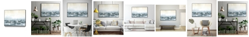 "Giant Art 32"" x 24"" Sea View V Art Block Framed Canvas"