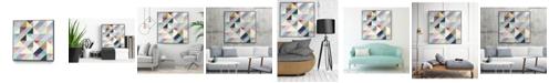 """Giant Art 30"""" x 30"""" Modern I Art Block Framed Canvas"""