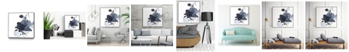 """Giant Art 30"""" x 30"""" Splash I Art Block Framed Canvas"""