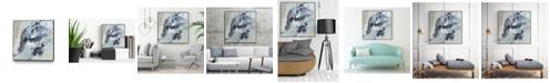 "Giant Art 30"" x 30"" Polyphonic Sea I Art Block Framed Canvas"