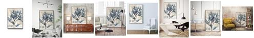 "Giant Art 36"" x 24"" Seaweed Arrangement I Art Block Framed Canvas"
