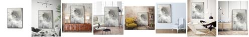 "Giant Art 32"" x 24"" Mystical Objects II Art Block Framed Canvas"
