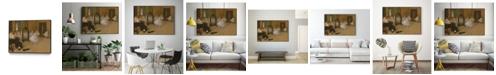 """Giant Art 40"""" x 30"""" The Dancing Class Art Block Framed Canvas"""
