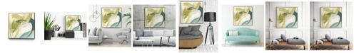 "Giant Art 30"" x 30"" Vertigo Note II Art Block Framed Canvas"