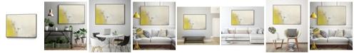 "Giant Art 28"" x 22"" Lux I Art Block Framed Canvas"