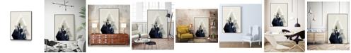 "Giant Art 40"" x 30"" Beneath the Surface III Art Block Framed Canvas"